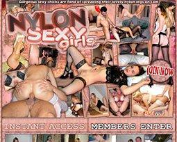 nylon sexy girls