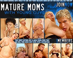mature moms with young guys