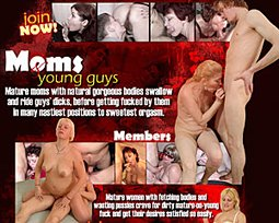 moms and young guys