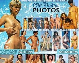 old nudist photos