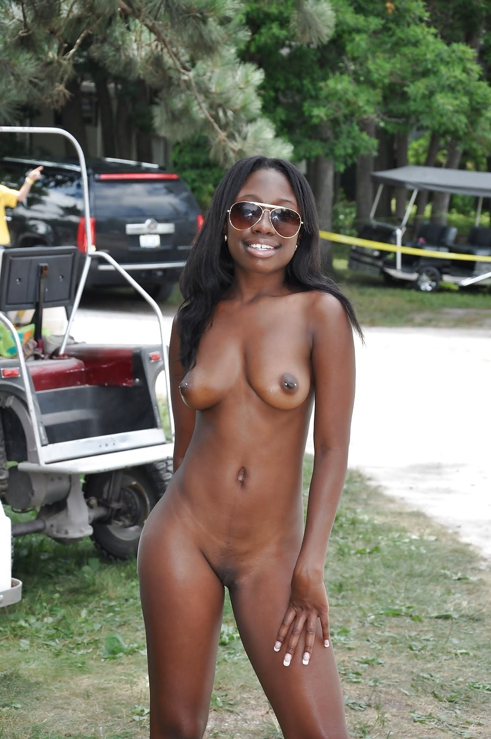 Ugly redhead black female public nudity amatuer